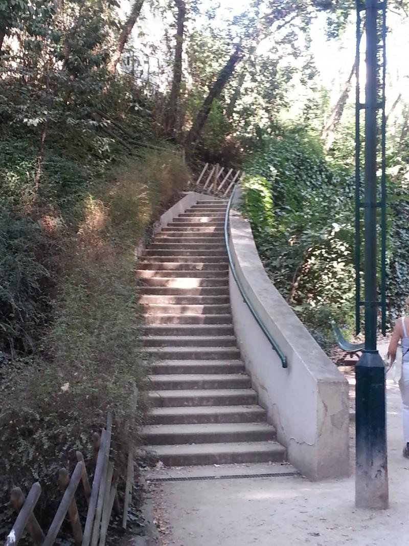 Sortie gratuite à Paris avec les enfants, la coulée verte pour les courageux qui veulent prendre un autre sentier.