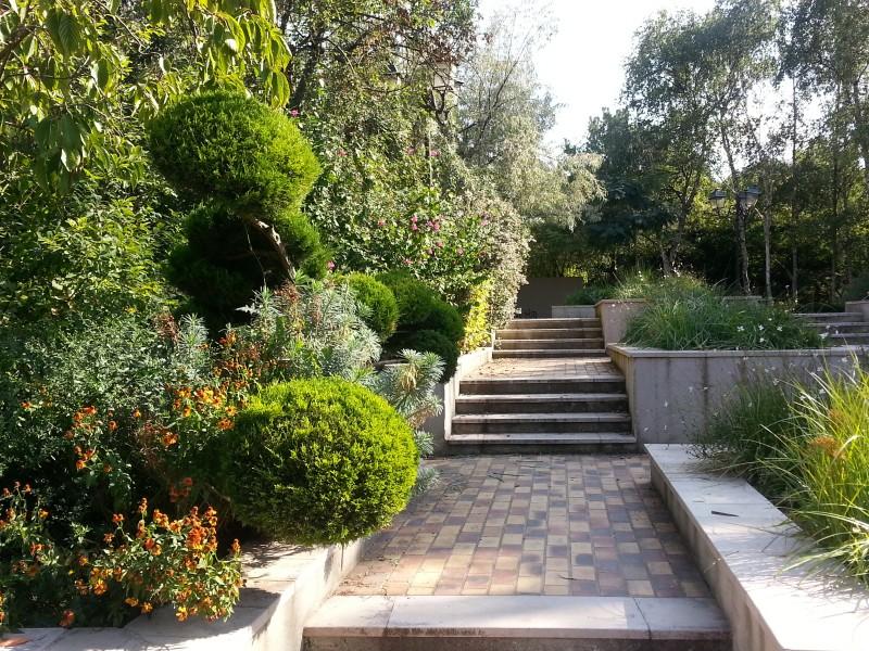 Sortie gratuite à Paris avec les enfants, la coulée verte, le square charles peguy, on a envie de les monter ces escaliers.