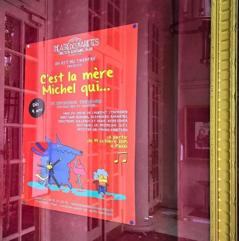 Spectacle pour enfants dès 4 ans au théâtre des Variétés à Paris, C'est la mère Michel