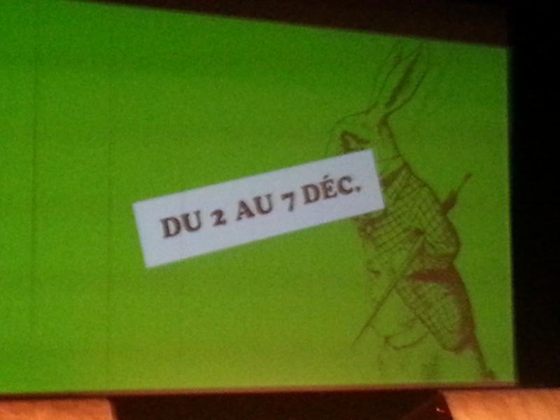 Salon du livre pour enfants de Montreuil, du 2 au 7 décembre 2015, merci le lapin