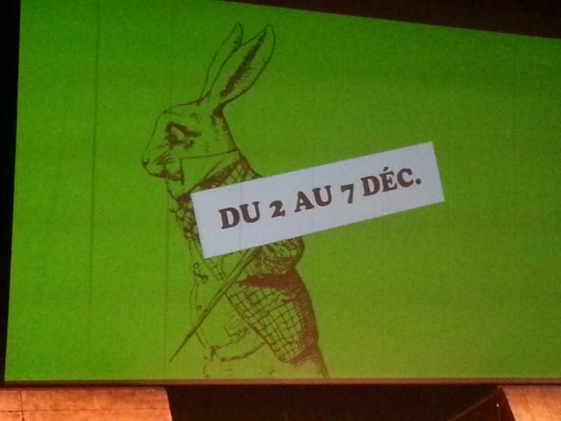 Salon du livre pour enfants de Montreuil, et alice sera là ne t'inquiète pas !!
