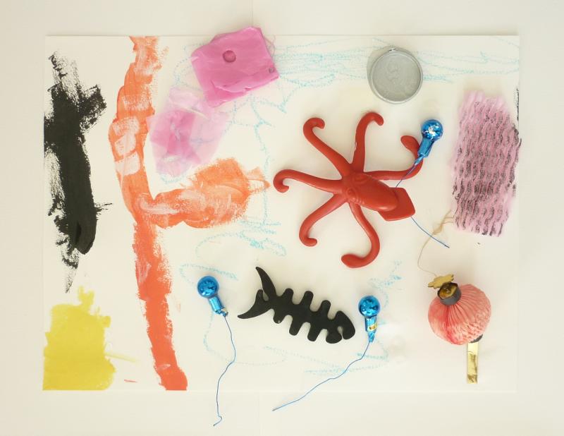 Ateliers d'arts plastiques à domicile, recyclage de jouets