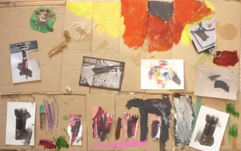 Atelier anniversaire à domicile, recyclage cartes postales