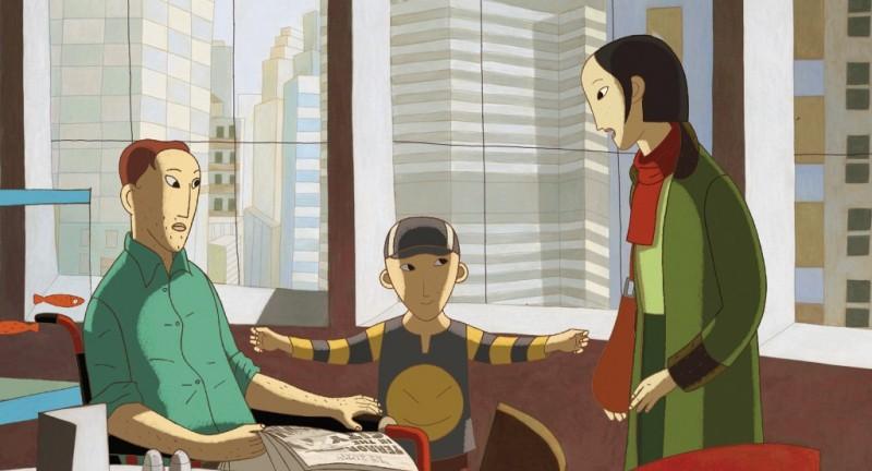 Film d'animation Phantom Boy au cinéma pendant les vacances de la Toussaint