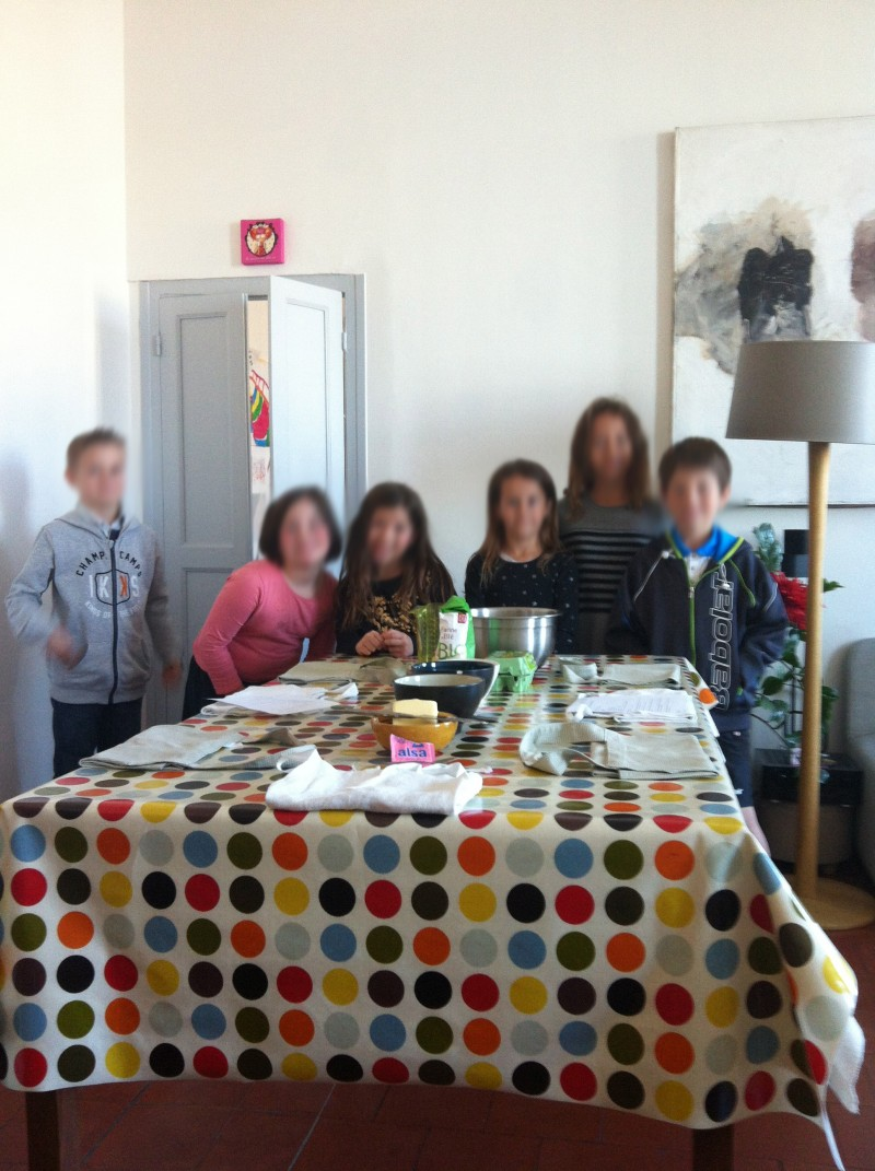 Anniversaire enfants à Nice, ateliers de cuisine bougies