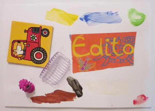 Ateliers enfants Paris, arts plastiques et poésie.