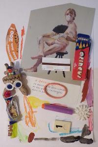 Ateliers enfants Paris, arts plastiques et poésie, recyclage avec des matériaux de récupération.