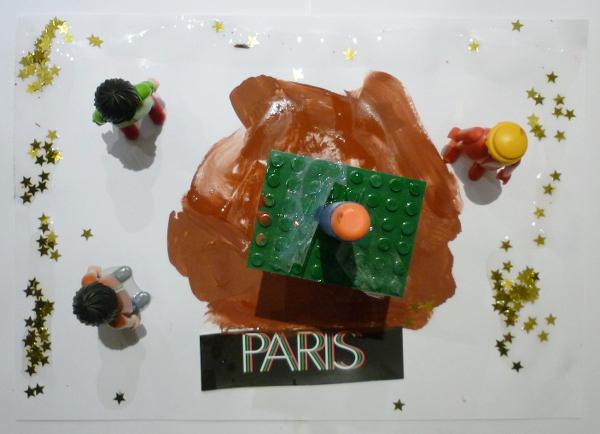 Ateliers arts plastiques, recyclage avec des matériaux de récupération. Ateliers enfants Paris,
