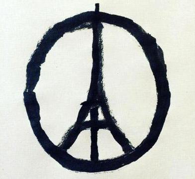 Attentats de Paris, répondre aux questions des enfants, un graphiste nantais auteur du dessin viral peace paris.