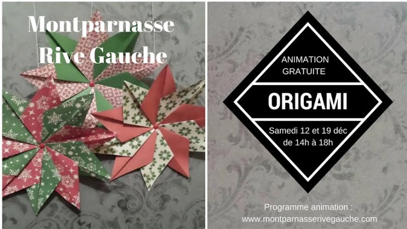 Animations gratuites de Noël 2015 pour les enfants au centre commercial Montparnasse.