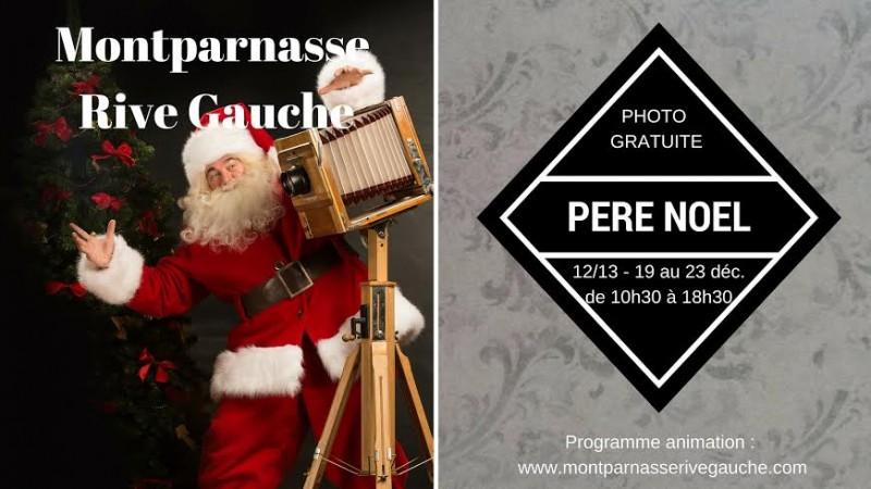 Animations gratuites de Noël 2015 au centre commercial Montparnasse