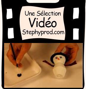 Tutos de Noël de loisirs créatifs en vidéo, notre sélection, le bonhomme de neige en carton