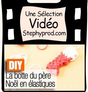 Tutos de Noël de loisirs créatifs en vidéo, notre sélection,  la botte du pere noel