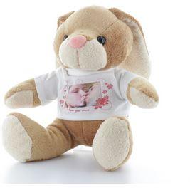 Cadeau de Noel, une peluche personnalisée trop mignonne, Fanfan le lapin