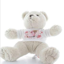 Idée de cadeau de Noel, une peluche personnalisée Martin l'ourson