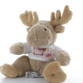 Cadeau pour Noel, une peluche personnalisée Nestor le renne