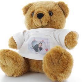 Cadeau de Noel, une peluche personnalisée Teddy l ours