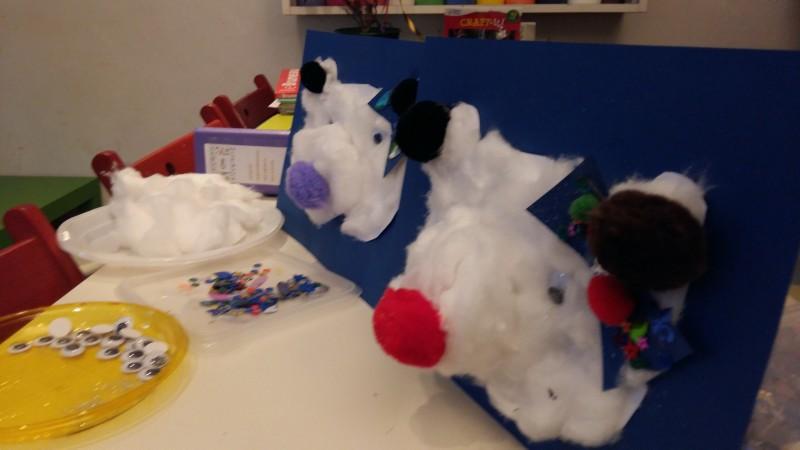 L'atelier des enfants, la semaine, les soirs d'école  les ours en coton