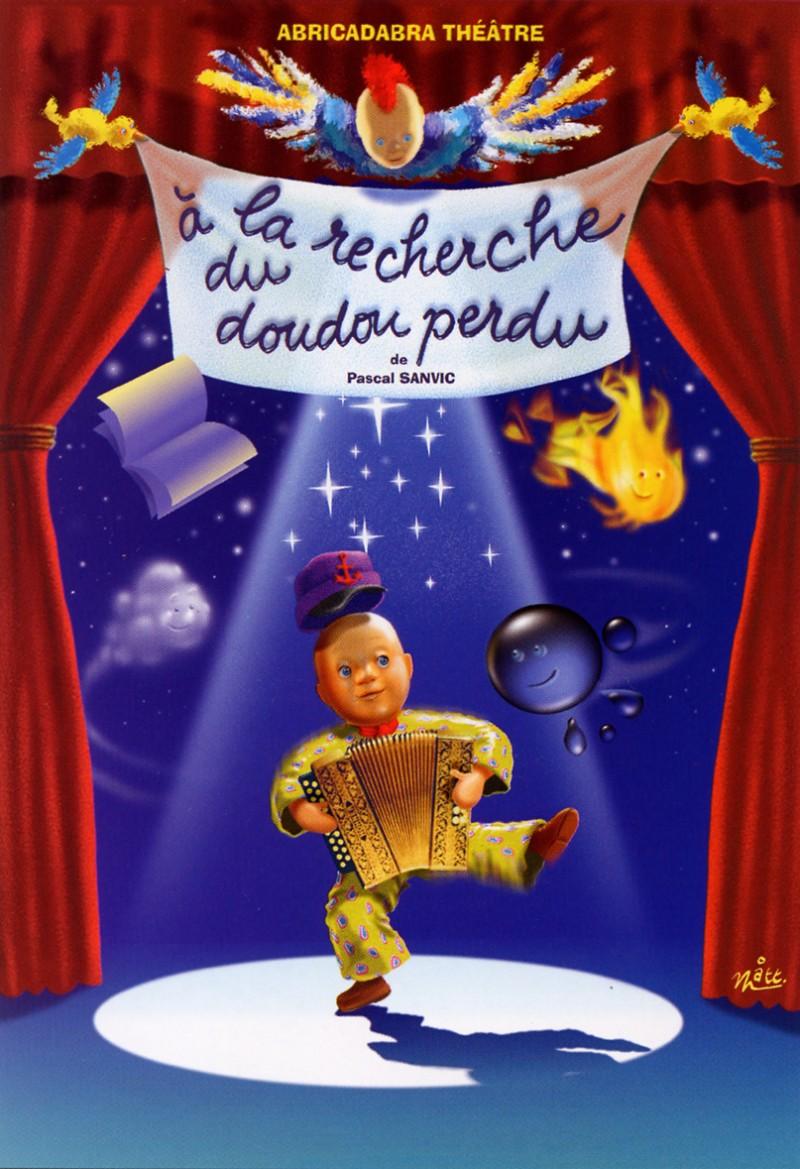 Spectacle enfants à Paris, À la recherche du doudou perdu.