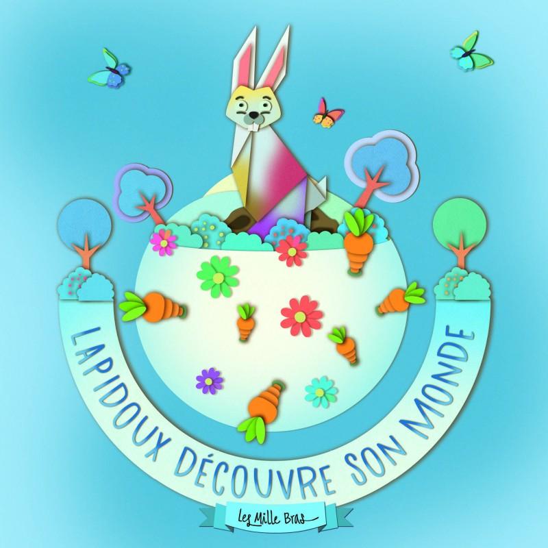 Spectacle pour enfants à Toulouse, Lapidoux découvre son monde, l'affiche