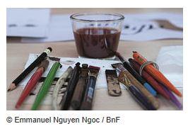Eté 2016 à la BnF : Ateliers et visites jeunes public  atelier a 4 mains