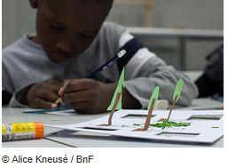 Eté 2016 à la BnF : Ateliers et visites jeunes public  capture ateliers
