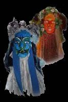 Anniversaire avec Mary Poppins à Toulouse, les masques