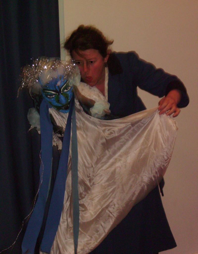 Anniversaire avec Mary Poppins à Toulouse, les marionnettes.