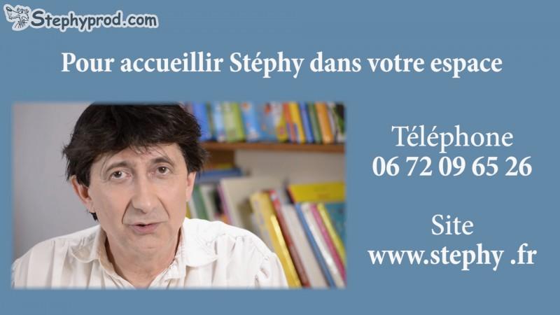 Contact du conteur Stéphy qui raconte l'histoire de Boucle d'or.