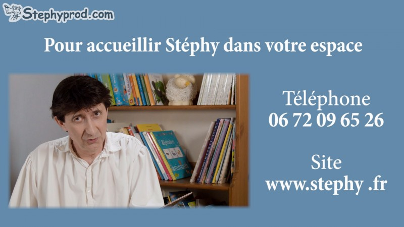 Contact du conteur pour enfants Stéphy.