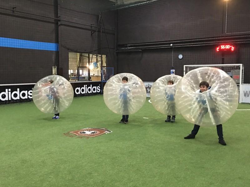Anniversaire pour enfants Bubble Foot en val de marne