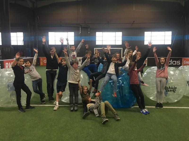 Anniversaire pour enfants Bubble Foot les yvelines