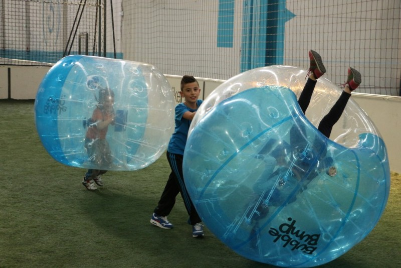 ANNIVERSAIRE ENFANTS BUBBLE FOOT - Paris