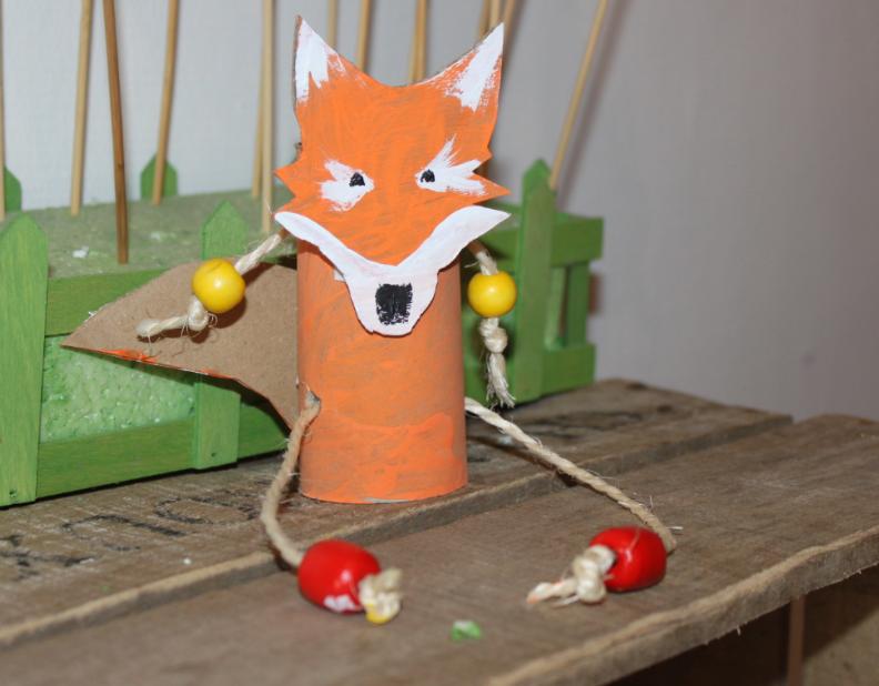 l'Atelier des enfants : les Anniversaires fabrication du renard