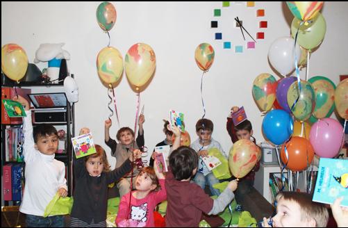 l'Atelier des enfants : les Anniversaires les ballons