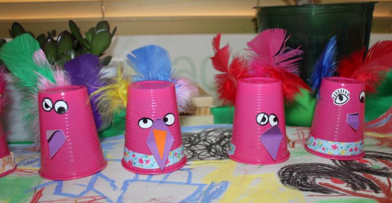 l'Atelier des enfants : les Anniversaires les oiseaux du paradis