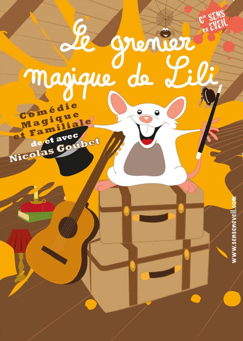 Festival Avignon, spectacle enfant : Le grenier magique de Lili.