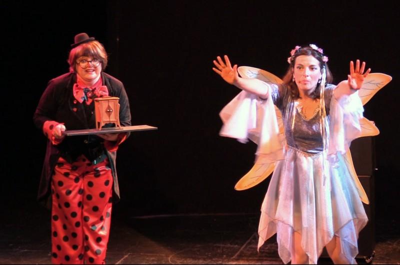 Ca va commencer, spectacle jeune public La Fée Liloo et la Coccinelle.