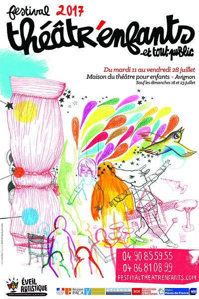 Spectacles enfants au festival d'Avignon, le Festival Théâtr'Enfants et tout public 2017