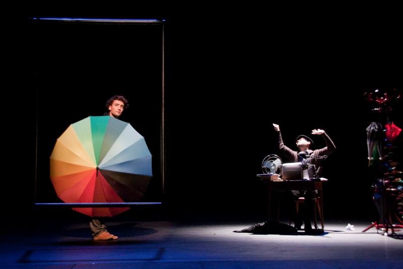 Spectacle enfant au Festival d'Avignon 2017 Je suis un rêve - Mathieu Morelle et Damien Bricoteaux