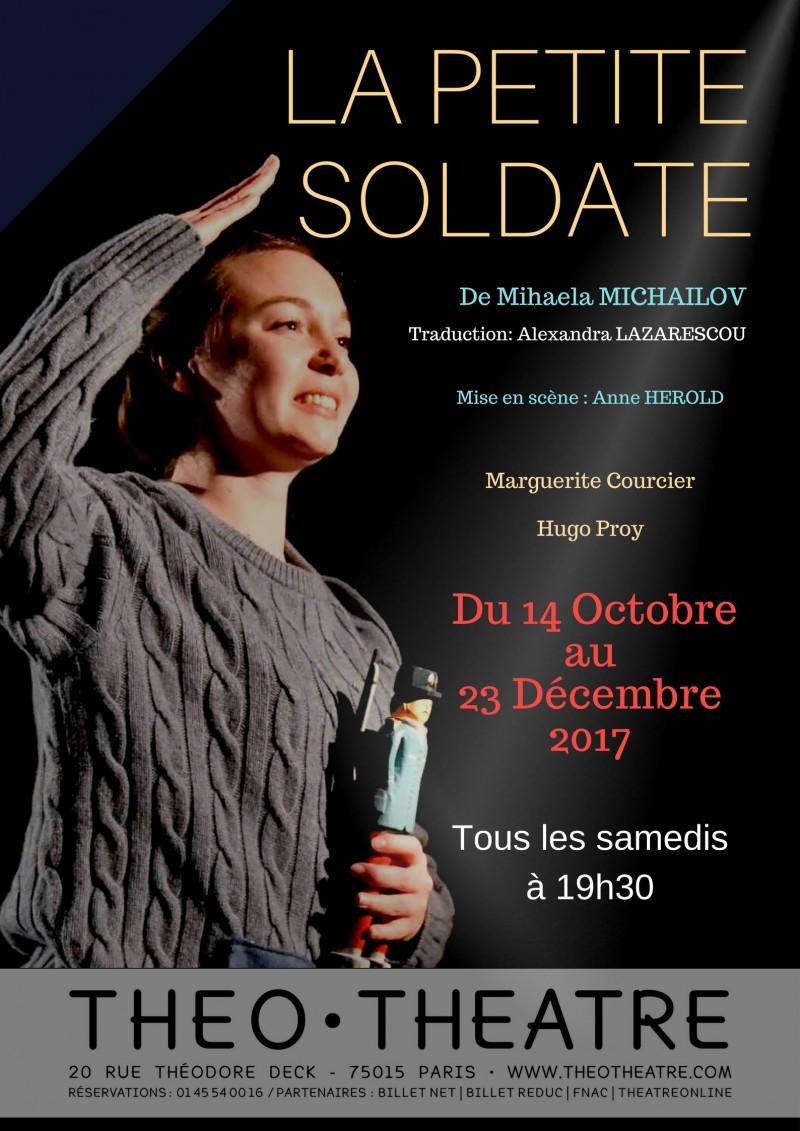 Spectacle pour enfants  La petite soldate à Paris.