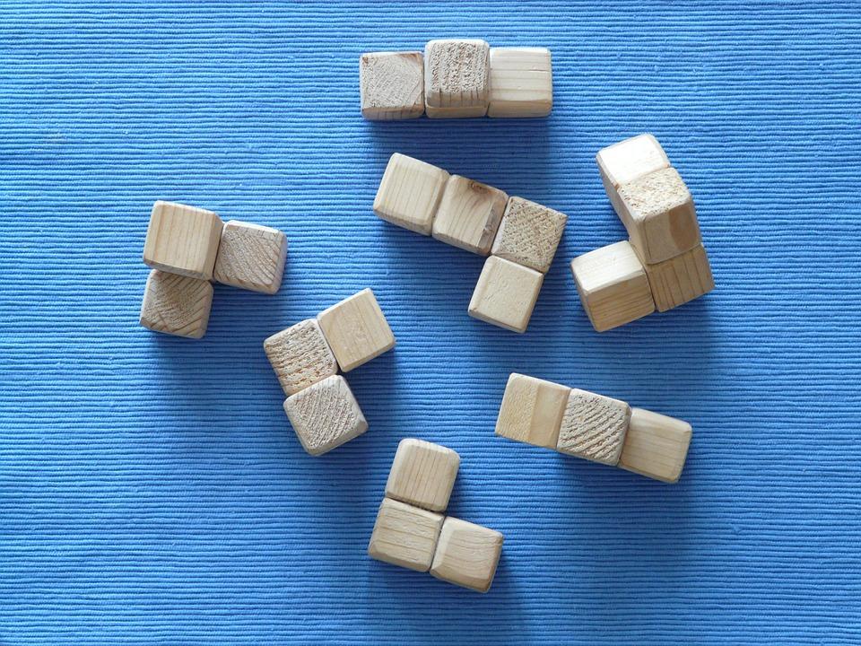 Nouveau jeu de construction pour les petits créatifs puzzle