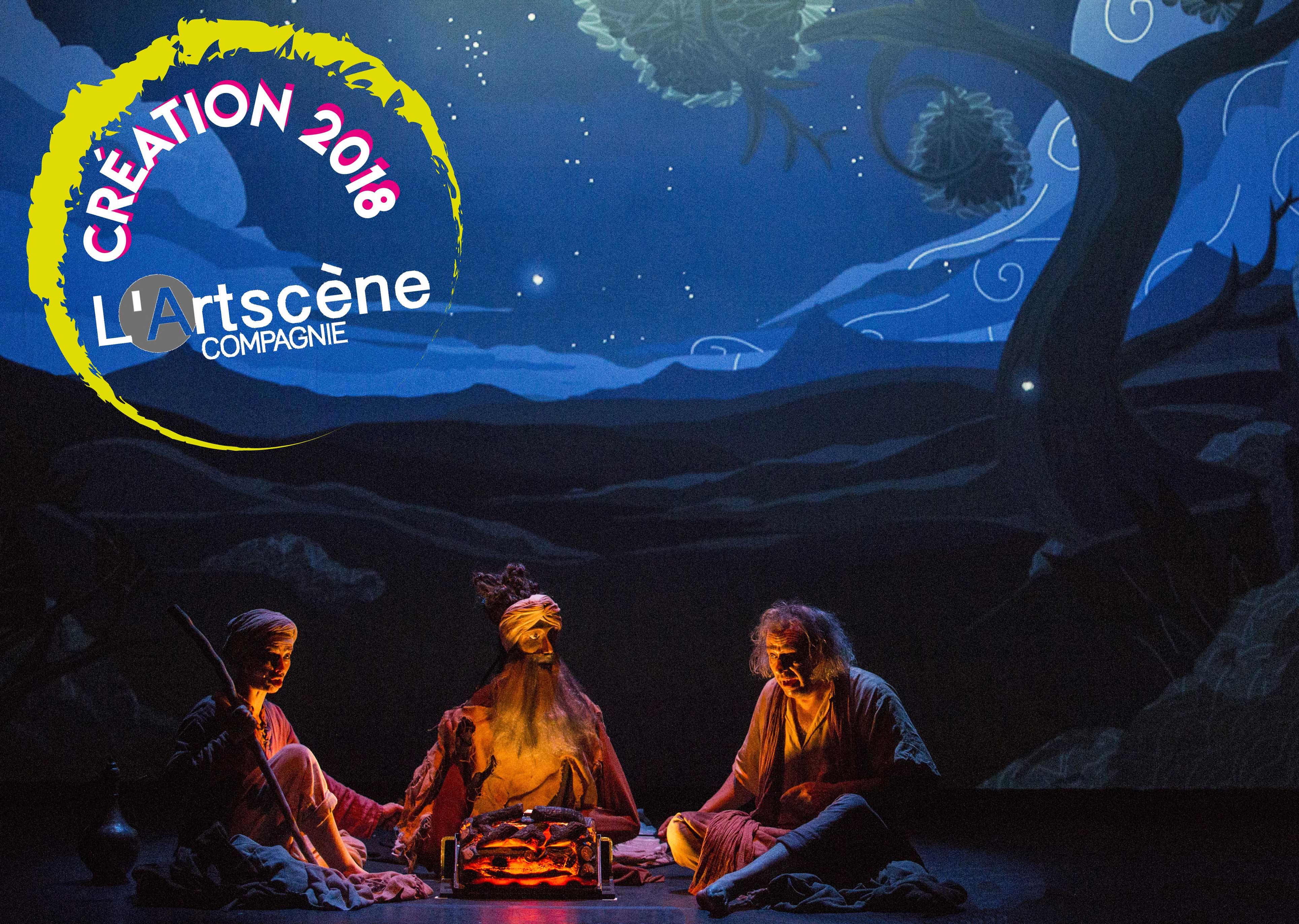 Spectacle enfant Le Savetier de Thanjavur - Festival Off Avignon 2018