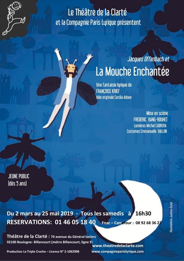 Jacques Offenbach et la mouche enchantée