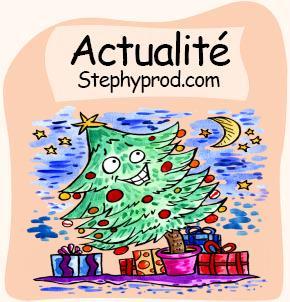 Actualités Vacances de Noël. Sélection Stephyprod pour les enfants et la famille.