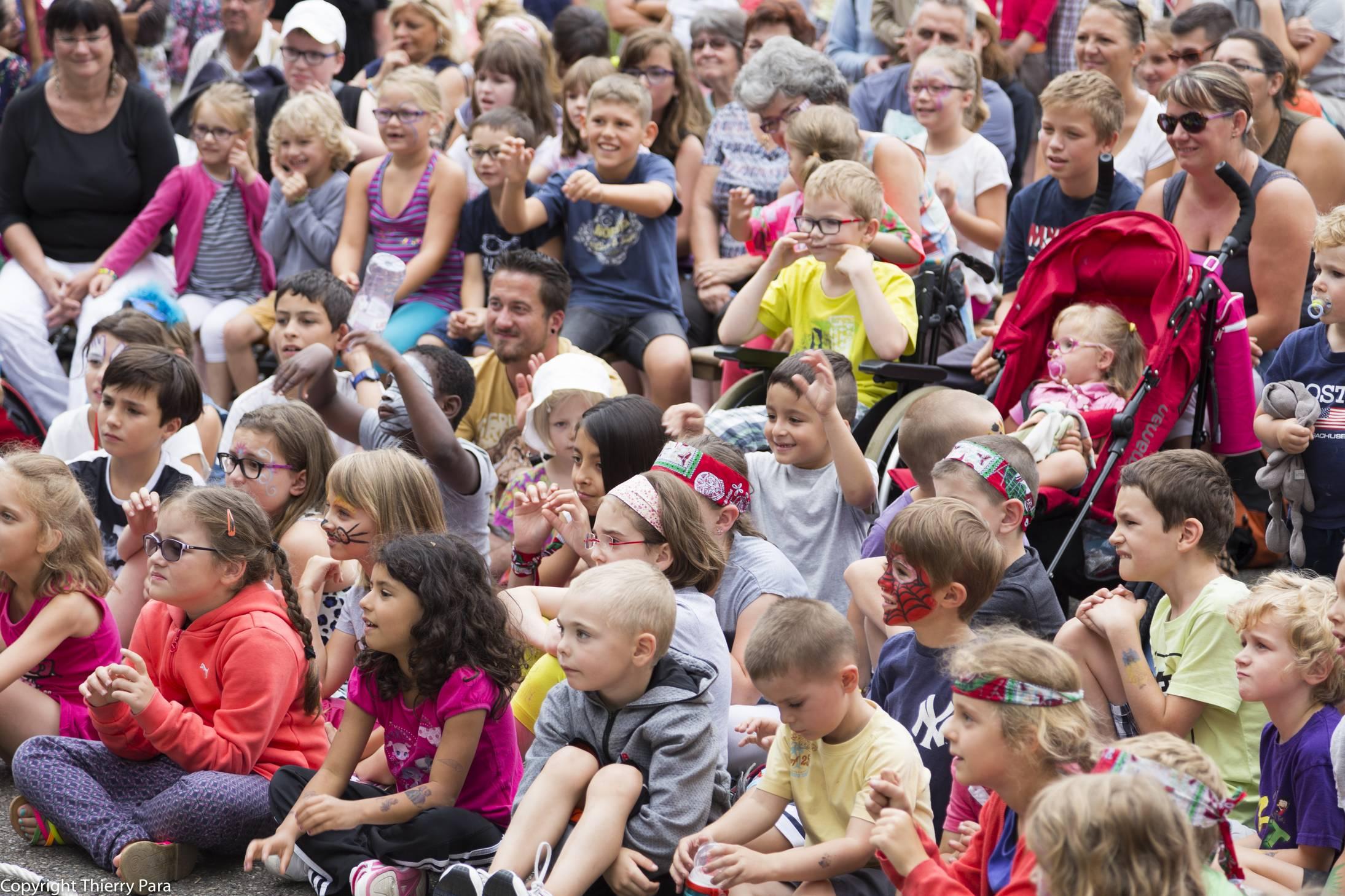Spectacles gratuits pour les enfants, Festival Môme en scène 2019.