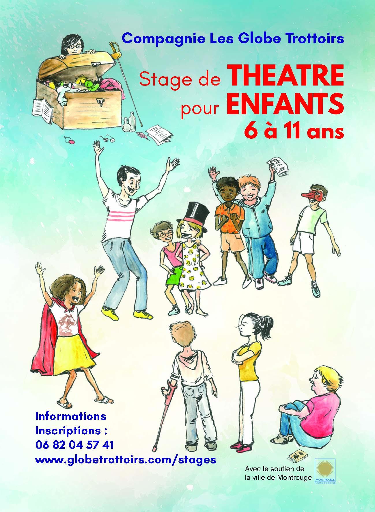 Stage de théâtre pour enfants