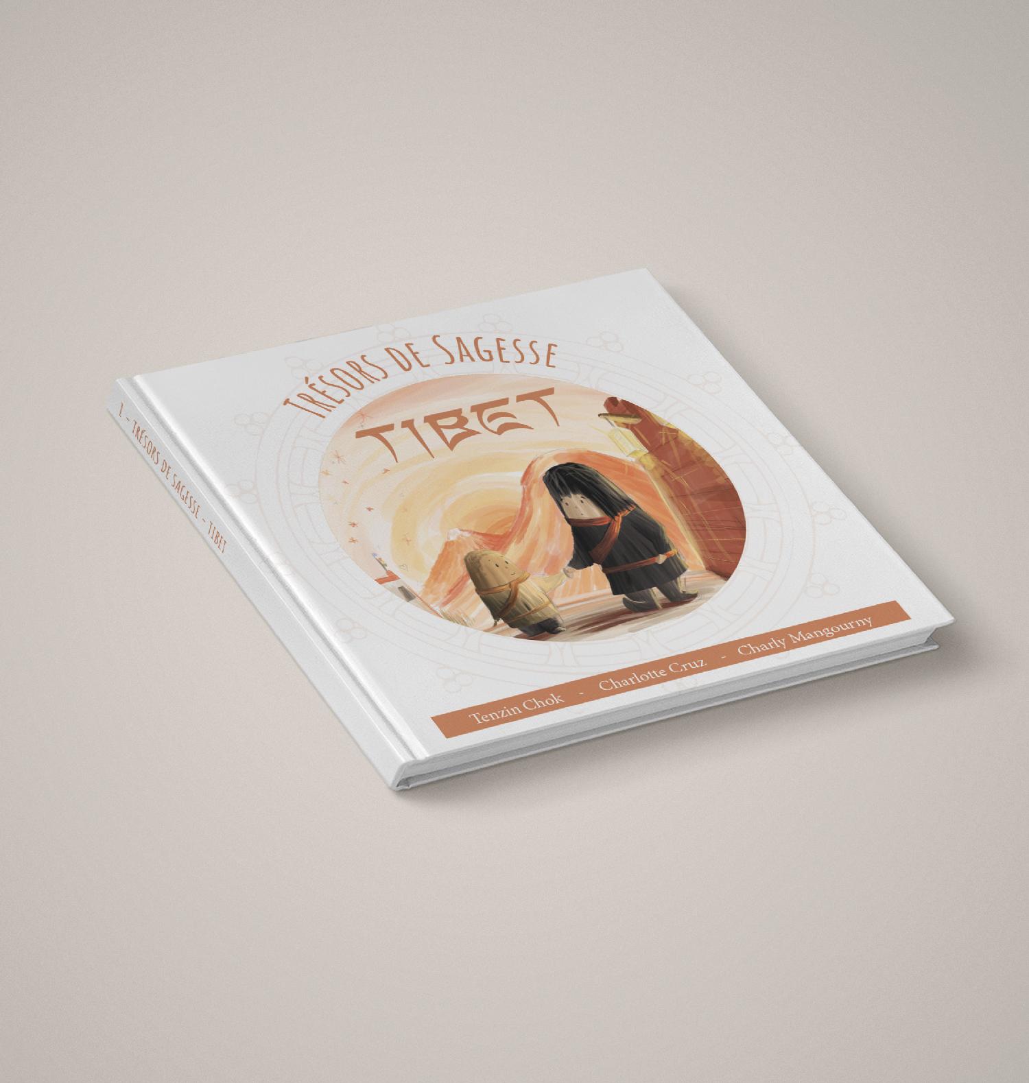 Trésors de Sagesse - Tibet - Livre spirituel pour enfant