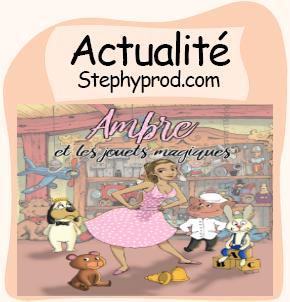 Actualité Spectacle AMBRE ET LES JOUETS MAGIQUES - Festival d'Avignon OFF pour les enfants et les bébés.