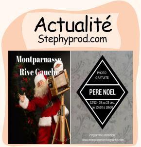 Actualité Animations gratuites de Noël au centre commercial Montparnasse pour les enfants et les bébés.